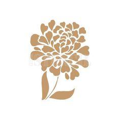 stencil deco floral 033 flor