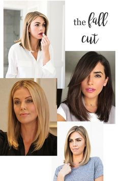 Do you get the itch for a change or makeover come fall? Particularly in the hair department? Sharing my inspiration for the fall cut. Fall Hair Cuts, Cut My Hair, Hair Cuts Lob, Lob Haircut Thick Hair, Medium Hair Styles, Curly Hair Styles, Natural Hair Styles, Haircut Diy, Grunge Hair