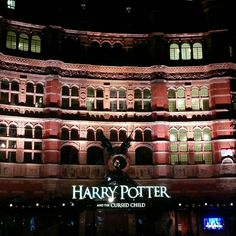 London by night - Harry Potter and the Cursed Child (Palace Theatre)