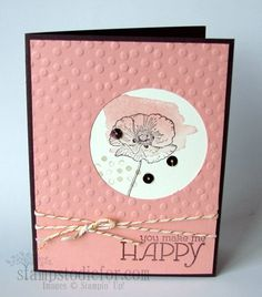 Bundle Happy Watercolor stamp set