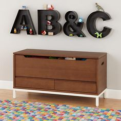 Hi-Fi Toy Box - sleek and streamlined design with additional drawers means it can also be used as a TV entertainment unit.