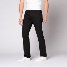 Hudson Jeans // Blake Slim Straight // Raw Black (34WX34L)