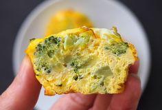 Mini omlete la cuptor in 4 feluri Ricotta, Quiche, Broccoli, Breakfast, Mini, Food, Morning Coffee, Essen, Quiches
