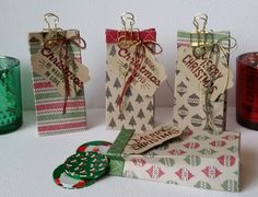 Stampin' Up! Demonstrator stampwithpeg : Christmas Craft Fair : Warmth & Cheer – Sweet Treat bags, with instructions. These are just so cute, and so easy to make. Each one uses a piece of…