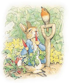 A New Peter Rabbit Book Will Come Out More Than a Century After It Was Written from InStyle.com