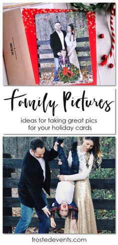 Family Pictures- Christmas Card Photo Ideas, family photo inspiration, ideas for poses and outfits for family photos and holiday cards from @tiny_prints