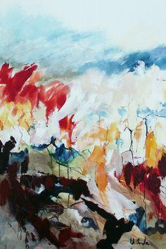 "Jac Volbeda Painting ""Summer"" #volbeda #art  80 x 120cm"