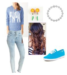 """""""1st day of school"""" by magy662520 ❤ liked on Polyvore featuring Charlotte Russe, Keds and My Secret Agent Lover Man"""