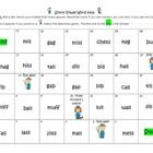 In this set, you will find 4 phonics games. 3 of the phonics games use real words and 1 of the games uses nonsense words with the same phonetic ele...