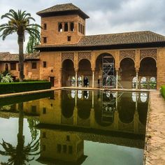 """The Alhambra of Granada, #Spain, described by Moorish poets as """"a pearl set in emeralds."""" Learn more about the Spanish region's delicacies in """"Appetite for Andalusia."""" Photo courtesy of brianthio on Instagram."""