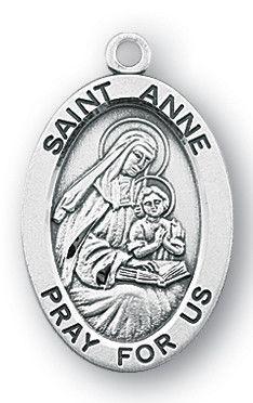 St  Valentine Sterling Silver Oval Medal | FREE Ship $49 | Catholic