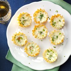 Looking for a wonderful way to impress guests? You've got it—and you need only five ingredients to make these tasty apps! —Josephine Piro, Easton, Pennsylvania Holiday Snacks, Christmas Snacks, Christmas Appetizers, Christmas Cooking, Holiday Recipes, Christmas Eve, Holiday Ideas, Christmas Menus, Christmas Apps