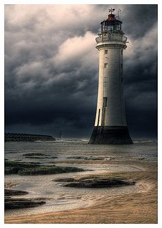 Brighton lighthouse, UK