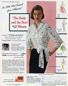 An Edith Head Original 1956