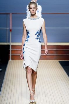 Spring 2014 RTW   Ermanno Scervino Collection