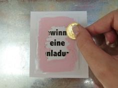 Rubbellose selber machen www.pechundschwef The post Rubbellose selber machen appeared first on Kindergeburtstag ideen. Diy Presents, Diy Gifts, Diy For Kids, Crafts For Kids, Cool Diy, Little Gifts, Origami, Diy And Crafts, Diys