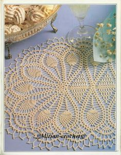 Casa da Salete: Caminho de mesa em crochet