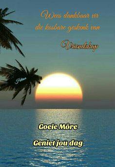 Good Night, Good Morning, Goeie More, Afrikaans, Beach, Water, Outdoor, Good Day, Water Water