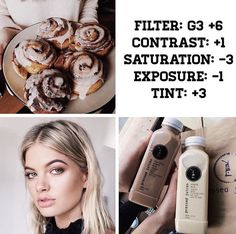VSCO Cam Filter Settings for Instagram Photos | Filter G3