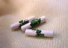 Paper Bead Ivy 12 Paper Beads