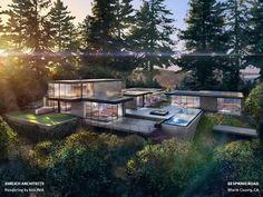 Ehrlich Architects: 33 Spring Road, Marin County, CA.