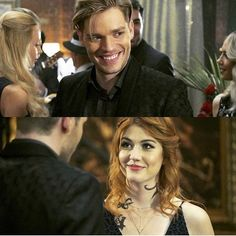 Jace et clary Clary Fray, Clary Et Jace, Isabelle Lightwood, Jace Lightwood, Malec, Shadowhunters Tv Series, Shadowhunters The Mortal Instruments, Fangirl, Dominic Sherwood