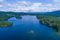 Drone shots of Lake Winnipesaukee. Photo taken from 162 Alpine Park Road Moultonborough, NH