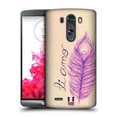 Pouzdro na mobil LG G3 HEAD CASE PÍRKA TI AMO