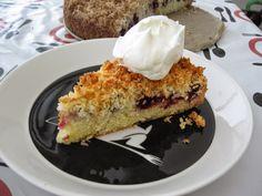 Karhunvatukka-kookospiirakka French Toast, Breakfast, Food, Morning Coffee, Meals, Morning Breakfast
