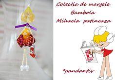 Bambola Mihaela skating by Colectia de margele  Please visit https://www.facebook.com/pages/Colectia-de-margele/1392796917646011
