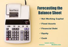 Cash Flow Statement, Financial Modeling, Fixed Asset, Balance Sheet, It Network, Positivity, Templates, Education, Learning