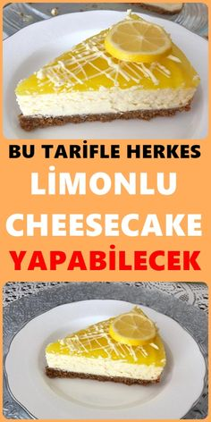 A perfect flavor cheesecake recipe to accompany tea times. This sweet recipe for lemon cheesecake, w Lemon Cheesecake Recipes, Lemon Recipes, Sweet Recipes, Canned Blueberries, Cold Cake, Scones Ingredients, Salty Cake, Pumpkin Dessert, Savoury Cake