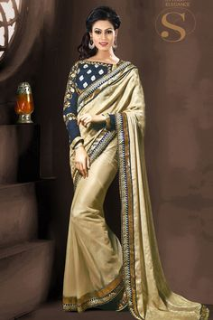 indian kurti designs casual, indian outfits anarkali gowns,diy indian dress,indian dress up ideas Get here the latest and exclusive collection of saree. Buy online majestic beige and red half n half designer saree for festival, party and wedding. Designer Silk Sarees, Designer Sarees Online, Art Silk Sarees, Georgette Sarees, Lehenga Choli, Georgette Fabric, Chiffon Saree, Silk Chiffon, Sabyasachi Sarees