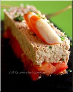 Entrée légère et facile- Tartare tomate thon - Recettes by Hanane