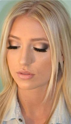 Perfect wedding make up, especially for u boo face!