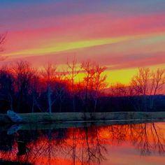 Atlanta Mo sunset photo by JaVaun West