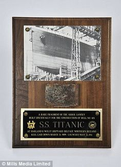 Pawnbroker pays £15,000 for bunch of Titanic 'relics' handed over in an old plastic bag... and finds they're worth £1.2million. Mark Manning, 50, bought the collection for £15,000. Artifacts include an inherited piece of ship's wooden staircase and fragment of steel hull. Anonymous collector passed relics on to allow other people the chance to admire them. Among the artefacts is a fragment of the ship's hull and a piece of wood taken from its grand staircase