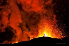 Photograph Eruption @ Vatnajokull has started by Gunnar Gestur  on 500px