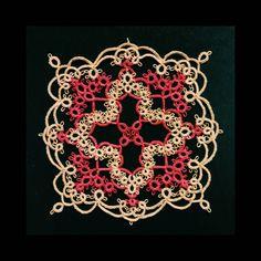 #오리엔탈 모드 (C)#다마걸 #이치고이치에 로 만든 #도일리 #엔틱 함이 쩔구나ㅋㅋ , #태팅 #태팅레이스 #tatting #tattinglace #핸드메이드 #수공예 #내작품 #oriental #antique