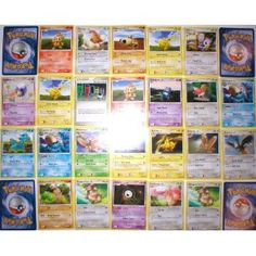 These are 110 Bulk Pokemon Cards. Please note these are not packaged - they are a BULK lot of BRAND NEW CARDS. Great for Pokemon Fans and also make a GREAT Party Favor. Order Today.