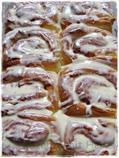 Thermomix - Rezepte mit Herz : Amerikanische Cinnamon Rolls Cinnamon Recipes, Cinnamon Rolls, Baking Recipes, Rezeptwelt Thermomix, Cooking Cake, Cake & Co, Fondant Cakes, Croissants, Brioche