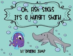 Oh, Fish Sticks Math games for Subtraction