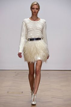 Feathers and Knit