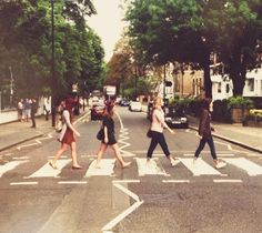 Abbey road :) I want a picture like this!