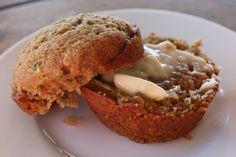 Barefeet In The Kitchen: Brown Sugar Spice Zucchini Muffins