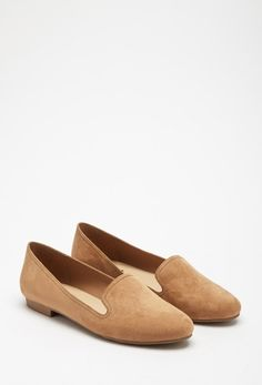Faux Suede Loafers from FOREVER 21 on Catalog Spree