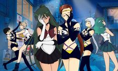 Художественные работы/by ASH/Anime art's photos Arte Sailor Moon, Sailor Moon Stars, Sailor Moon Fan Art, Sailor Moon Character, Sailor Moon Manga, Sailor Neptune, Sailor Uranus, Sailor Moon Crystal, Sailor Mars