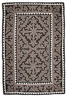 Felt - unique shyrdak felt rugs http://www.feltrugs.co.uk/