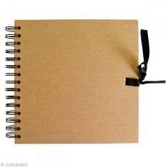 Cuaderno de scrapbook Artemio 30 x 30 cm - Natural - 40 hojas - Fotografía n°1