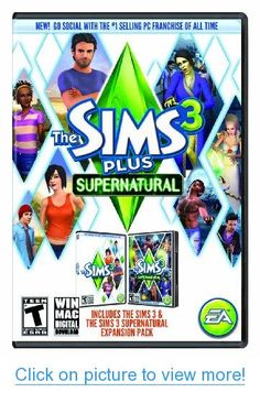 The Sims 3 Plus Supernatural [Online Game Code] #Sims #Plus #Supernatural #Online #Game #Code